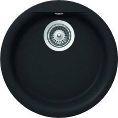 Abey Euro Round Single Bowl Granite Sink