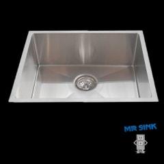 Piato 550 undermount sink Radius edge 550x450x250mm