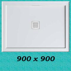 Stonelite™ ECO Shower Base 900 x 900
