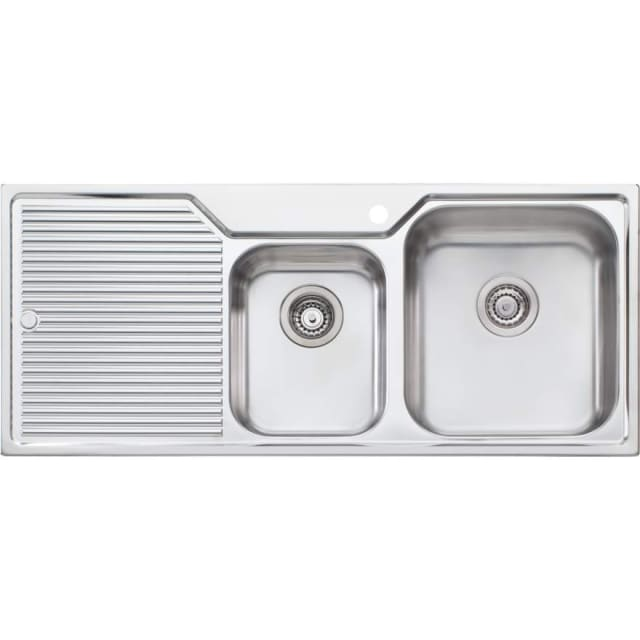 Oliveri Nu-Petite 1 And 3/4 Bowl Sink
