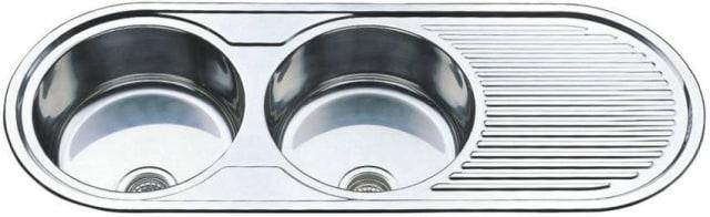 1270mm Rondo Duet Sink