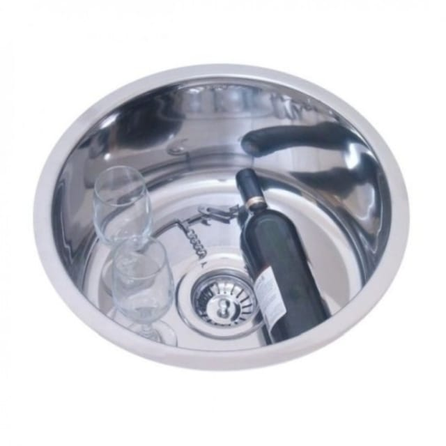 430mm Rondo Single Bowl Sink