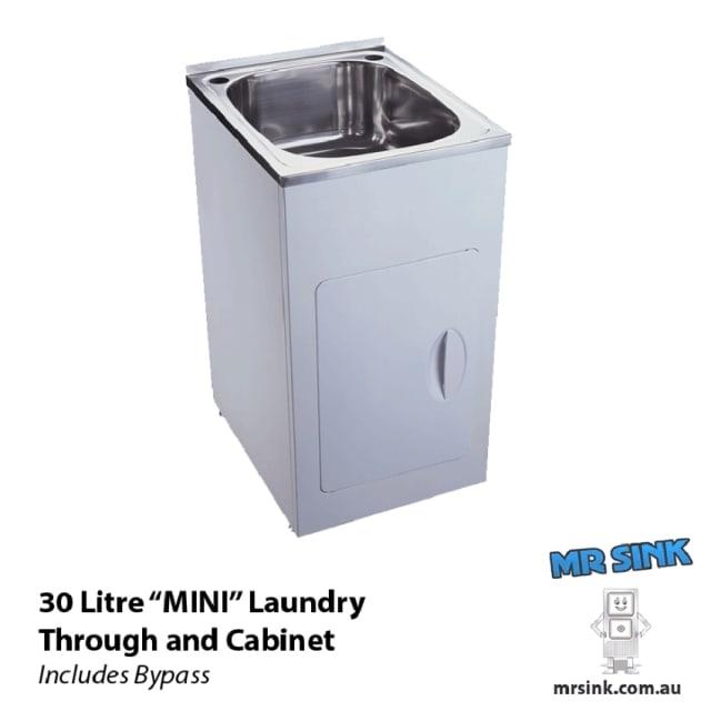 Yakka Mini 30 litre Tub And Cabinet