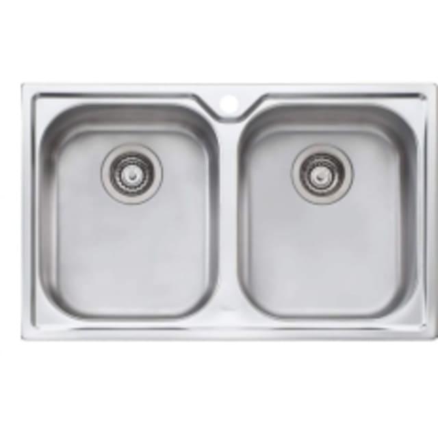 Oliveri Diaz Double Bowl Sink