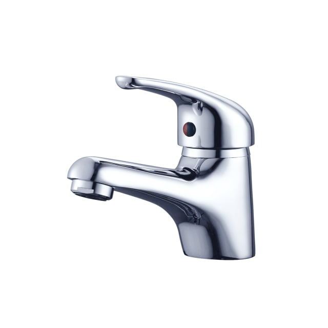 Ruby Basin Mixer Chrome