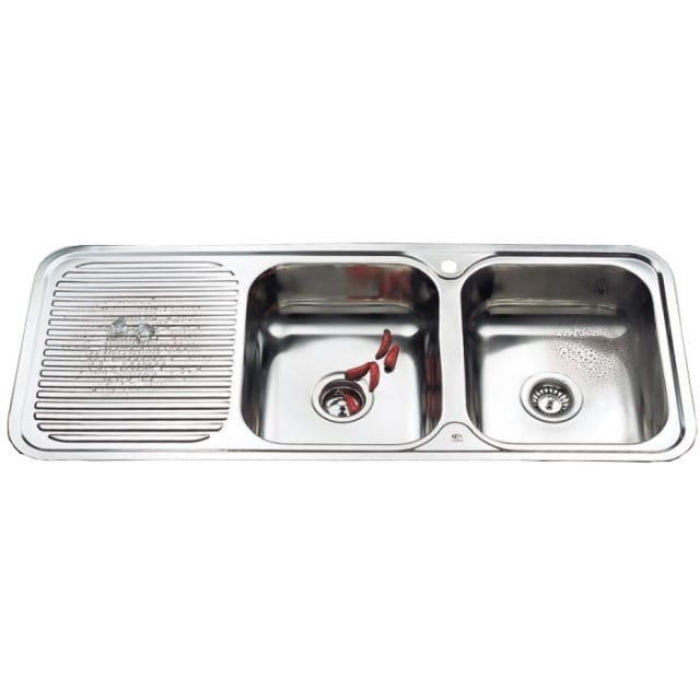 1200 Grande Double Bowl Sink