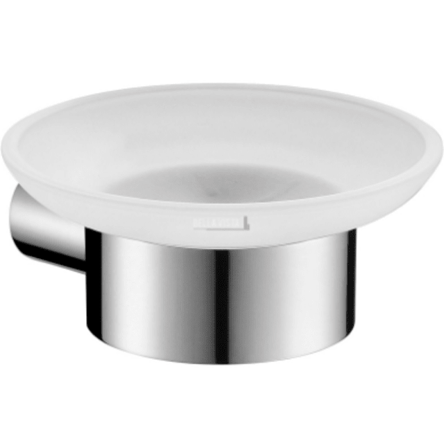 Chrome Soap Dish Round Design Bella Vista