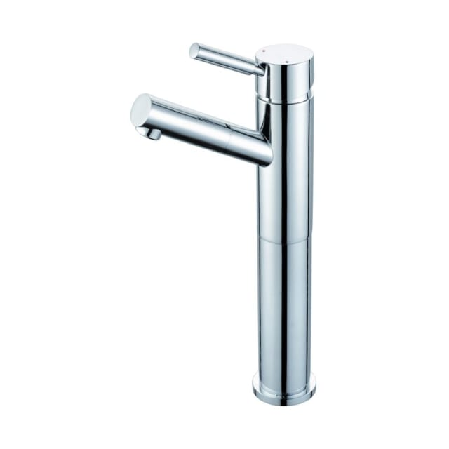 Dolce Tall Basin Mixer Angled Outlet - CHROME