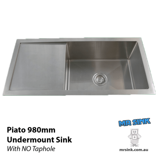 980mm Piato Undermount Sink