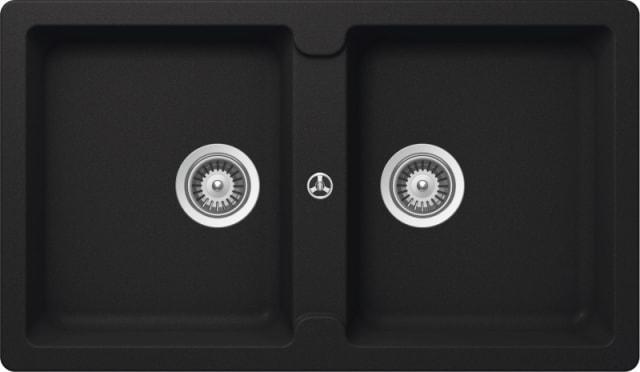 Abey Typos Double Bowl Granite Sink