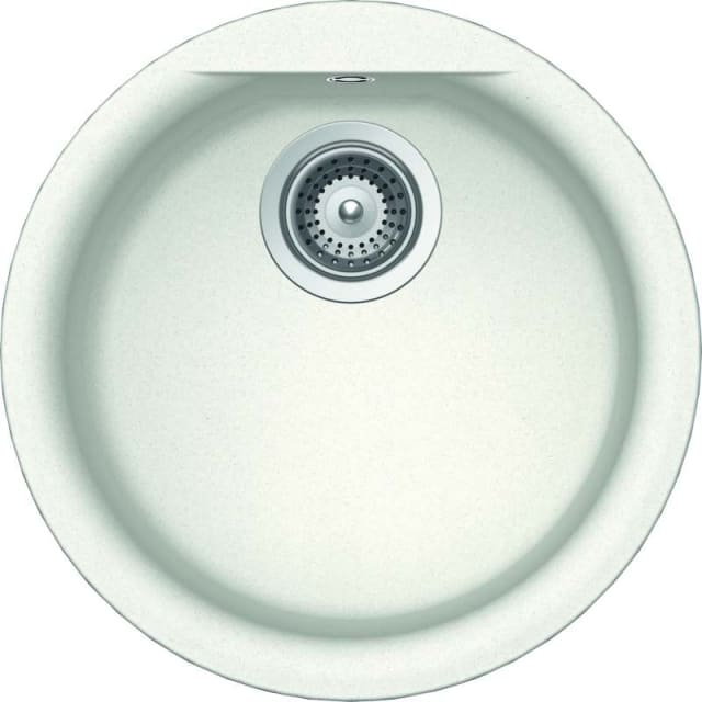 Abey Euro Round Single Bowl Granite Sink
