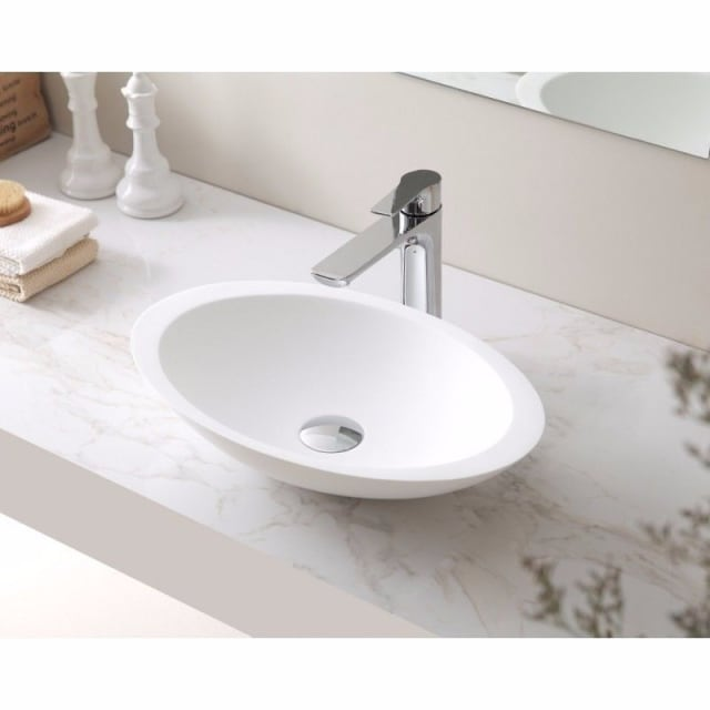 Solid Surface Basin 500 x 320 x 100mm