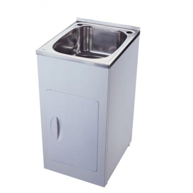 Yakka Single 35 Litre Laundry Tub And Cabinet
