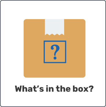 Box with question mark over it