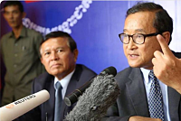 In the new year: Sam Rainsy wants a...