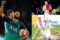 Spurs stormed Ajax to face Liverpool...