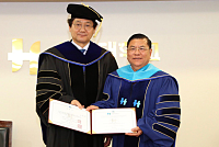 Dr. LY CHENG holds an Honorary...