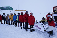 Even in Antarctica, there are also...