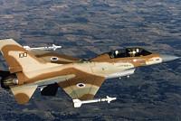 The Israeli air strike killed the...