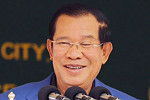 Hun Sen commended China for financing...