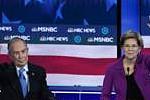 Democratic debate: Bloomberg rivals...
