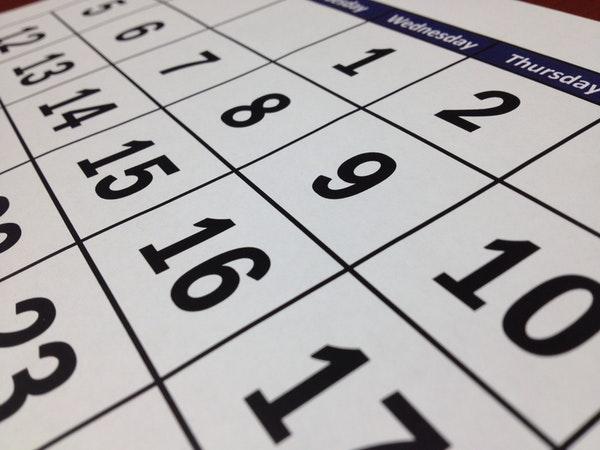 Calendar yuca8m eg0g5l ypenmr