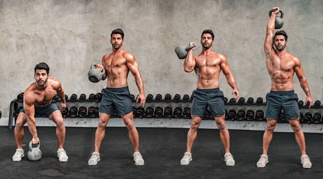 10 Best At-home Kettlebell Workouts to Improve Your Muscle Gaining