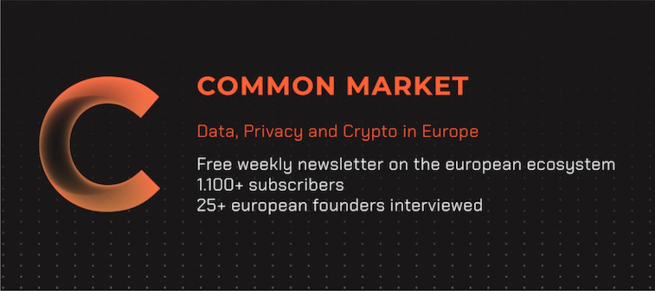Common Market: Crypto, Data and Privacy in Europe