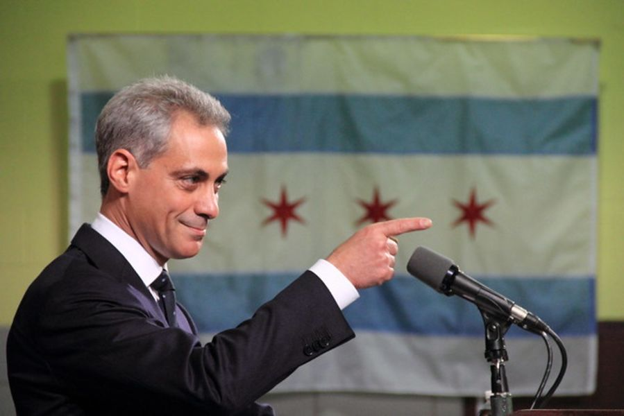 Actually, Rahm Emanuel might be the perfect Democratic Party ambassador