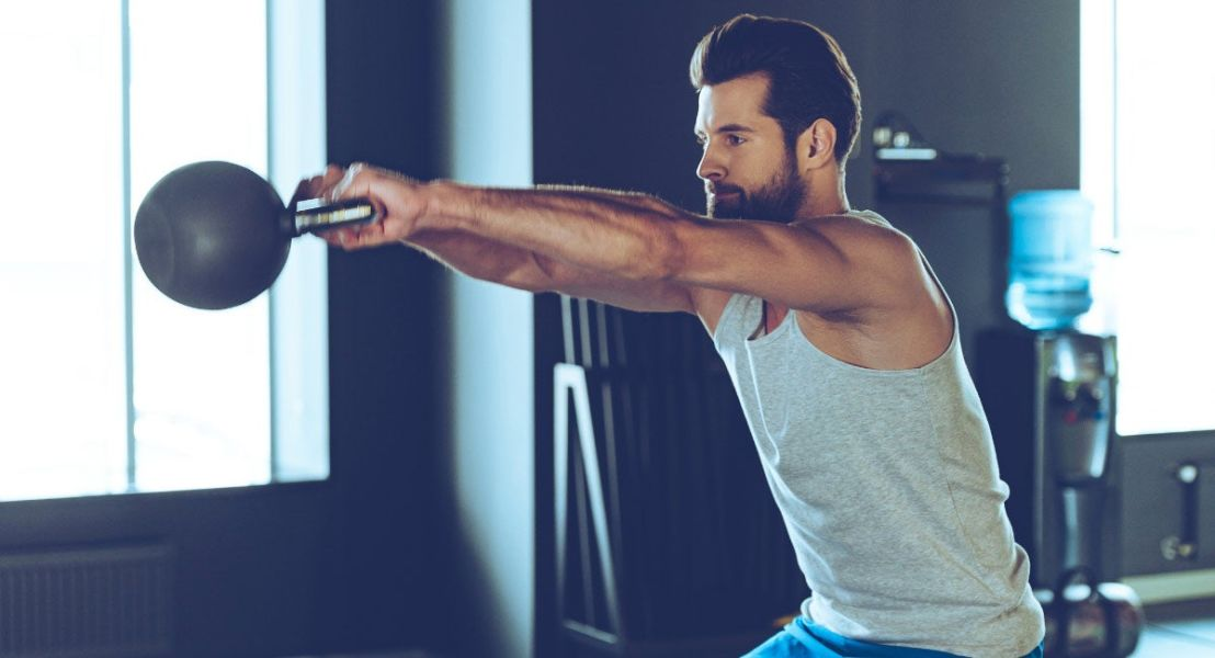 20-Minute Kettlebell Workout That Strengthens Your Whole Body