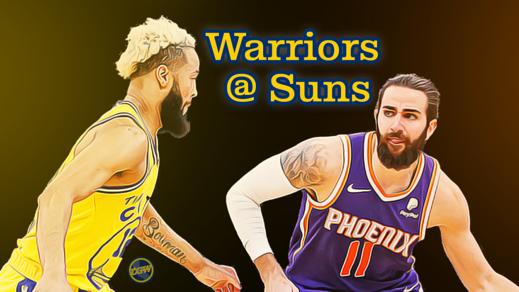 Preview: Warriors visit the Suns, get one last shot at a win before the All Star break