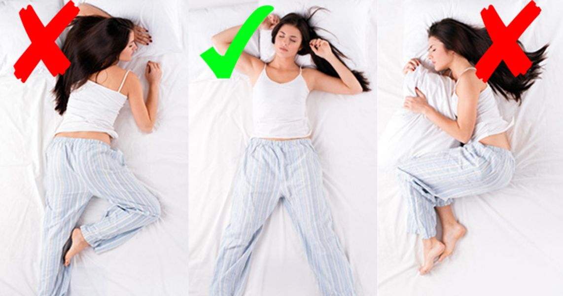 Top 10 Sleeping Position Affects on Your Health : Trends