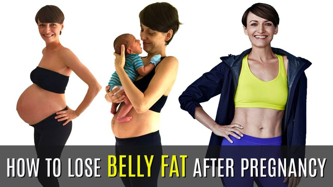 8 Simple Exercises To Reduce Tummy Fat Post Pregnancy: Weight Loss