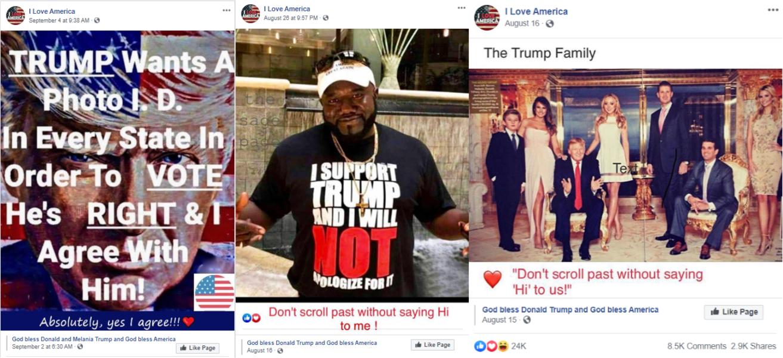 "Massive ""I Love America"" Facebook page, pushing pro-Trump propaganda, is run by Ukrainians"