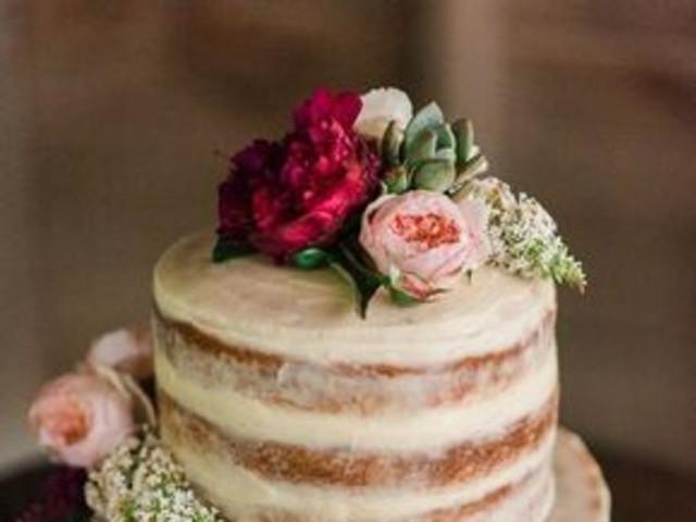 naked cake cake