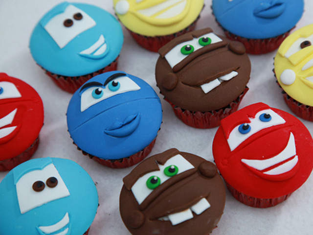 Cartoon Character Cupcakes - You choose Bondi Beach