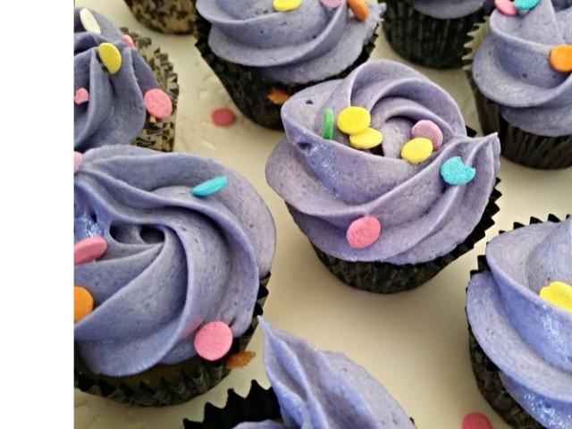 Petite Old School Vanilla Cupcakes Nakara