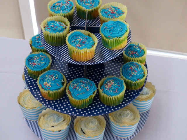 Rainbow Cupcakes and Blue Velvet Cupcakes Blacktown