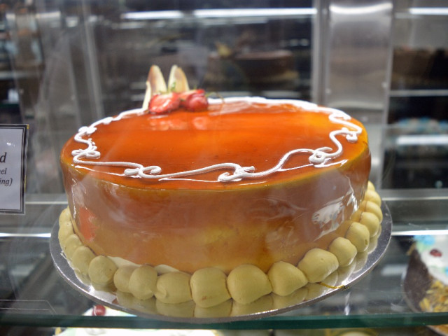 Caramel Custard Cake Marrickville