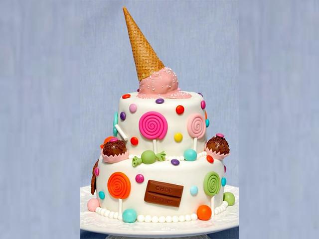 Kid's Candy Mayhem Cake Leichhardt