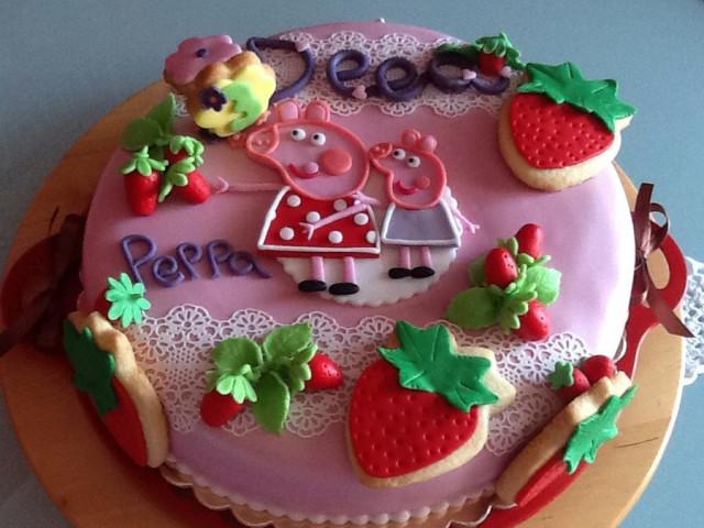 Peppa Pig's Summer Birthday Cake Croydon Park
