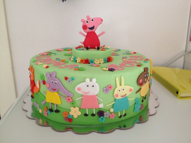 Peppa Pig and Friends Birthday Cake Croydon Park