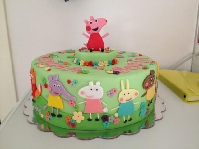 Peppa Pig and Friends Birthday Cake Croydon Park