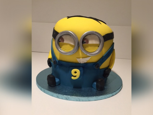 Minion Cartoon Birthday Cake  Croydon Park