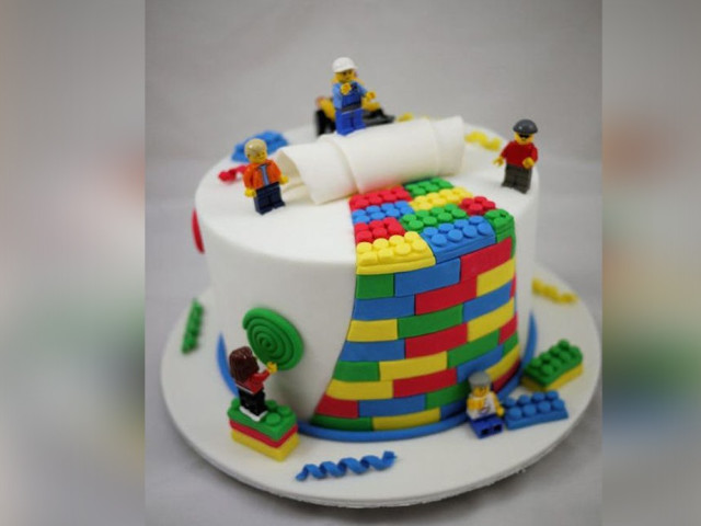 Decorated Lego Cake  Leichhardt