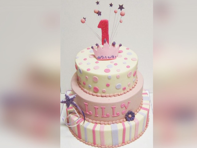 3-Tier Girl's Birthday Cake Leichhardt