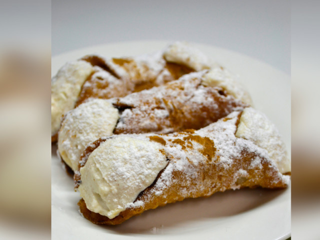 Ricotta filled Cannolis Marrickville