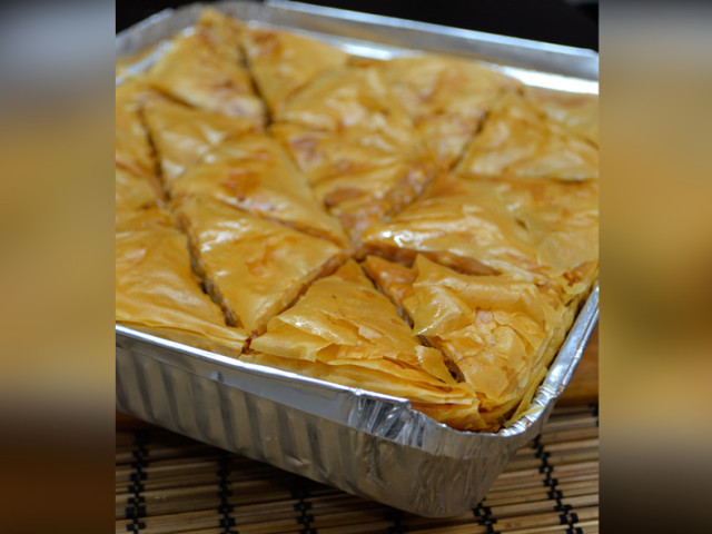 Tray of Baklava Marrickville