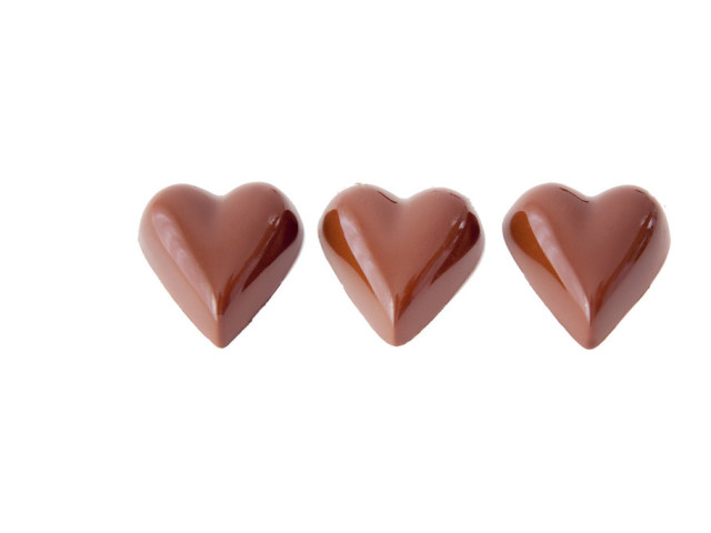 Milk Chocolate Hearts Wyong