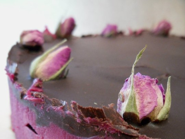 Raw Wild Berry Chocolate Cake Surry Hills